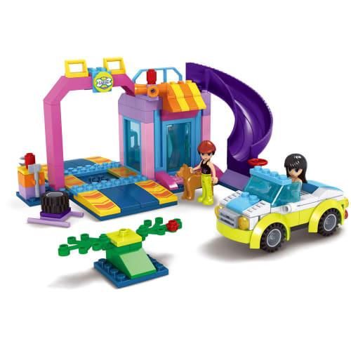 218-piece Car & Fitment Centre Block Set