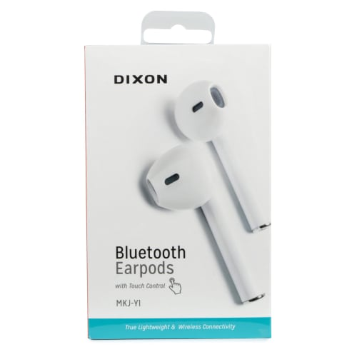 Dixon Bluetooth Earpods with Touch Control