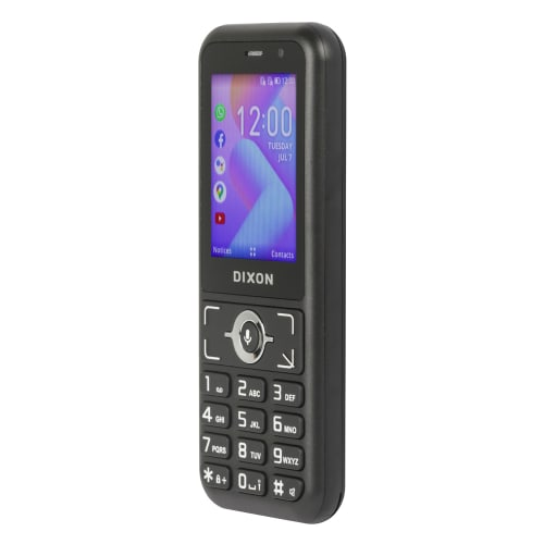 "Dixon 2.4"" 3G Smart Feature Phone"