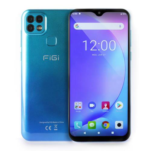 """FiGi Note 1 Pro 6.6"""" HD+ 128GB 4G LTE Smartphone"""