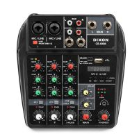 DIXON 4-Channel Mixing Console