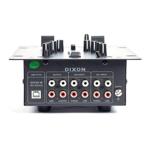 DIXON 2 Channel Scratch Mixer – USB Powered