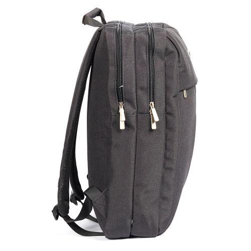 "PCBOX 15.6"" Laptop Backpack – Black"