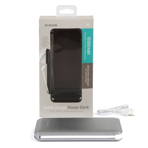 DIXON Quick Charge Power Bank 10,000mAH - 1521557603