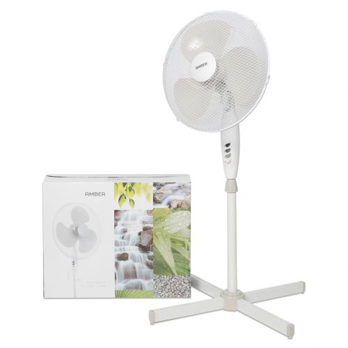 "AMBER 16"" 3 Speed Standing Fan"