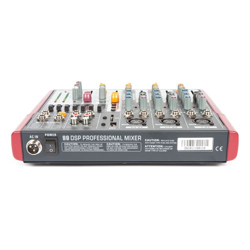 DIXON 5-Channel Ultra-Slim Sound Mixer