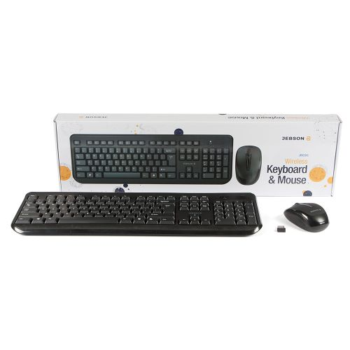 JEBSON Wireless Keyboard and Mouse Combo