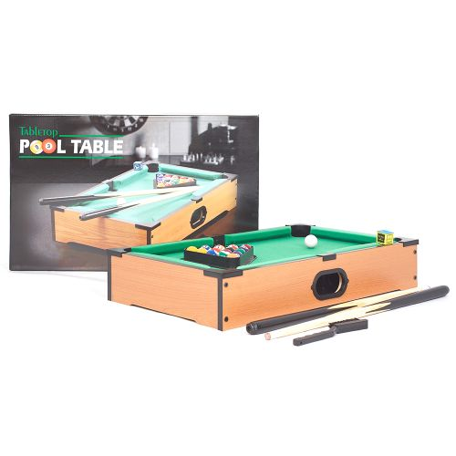 Table Top Pool Table Set