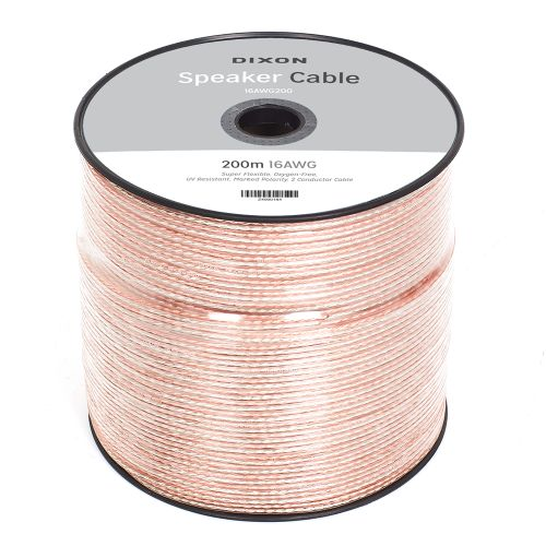 DIXON 16 AWG Speaker Cable 200m