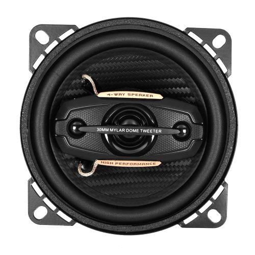 "DIXON 200W 4"" Coaxial 4-Way Full Range Car Speakers"