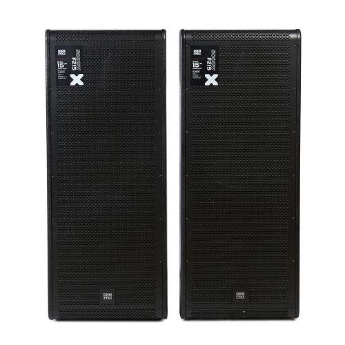 """DXNPRO Dual 15"""" Speaker System 500W"""