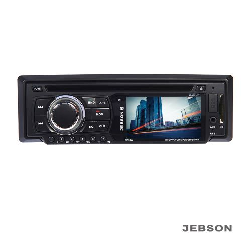 "JEBSON 3"" Car DVD Player with Aux and USB Card Slot"