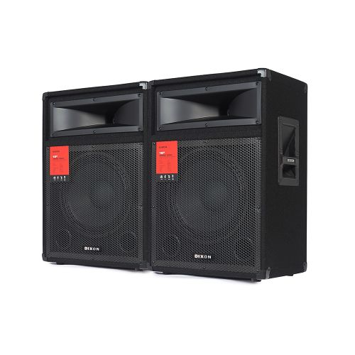 """DIXON 12"""" 600W PA/DJ Speaker System"""