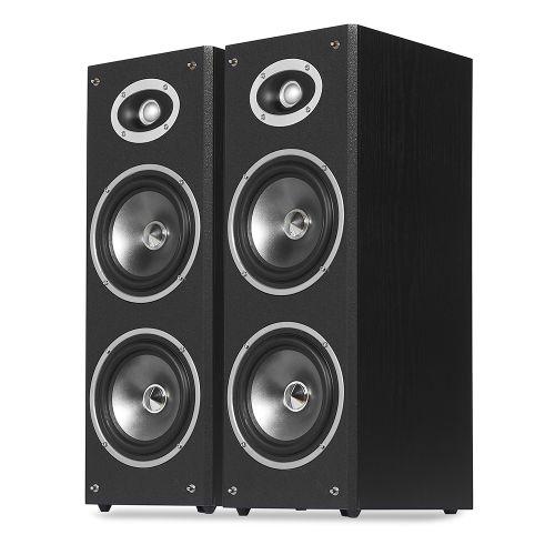 """DIXON Dual 6.5"""" 2-Way Floor-standing Speakers"""