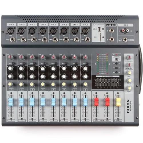 DIXON 8CH DJ LINE MIXER (PM802USB)