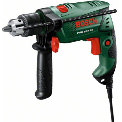 BOSCH 530W IMPACT DRILL (PSB 530 RE)
