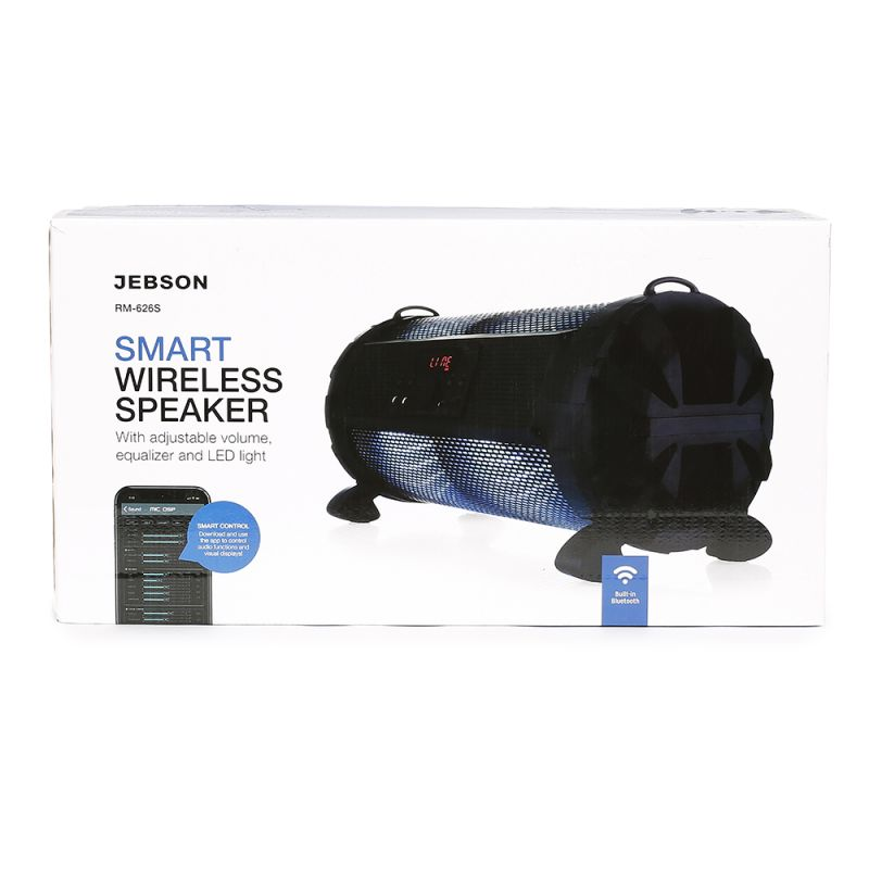 JEBSON Smart Wireless Party Speaker – with LED lights - 1543579664