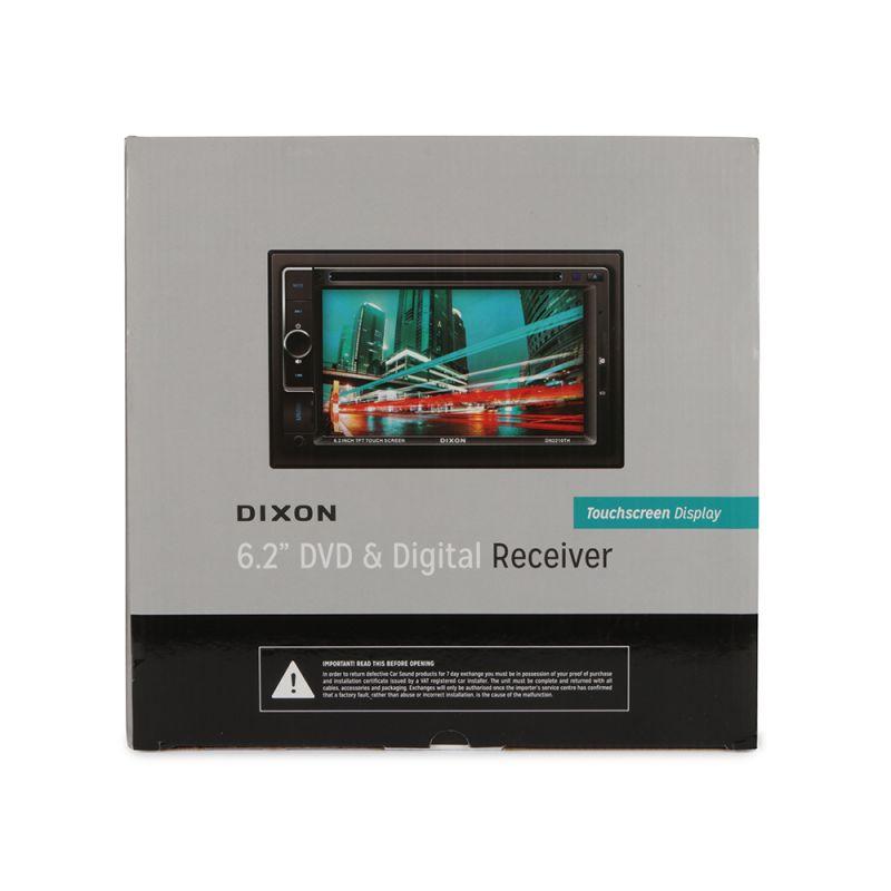 """DIXON 6.2"""" DVD & Digital Receiver - 1559886059"""