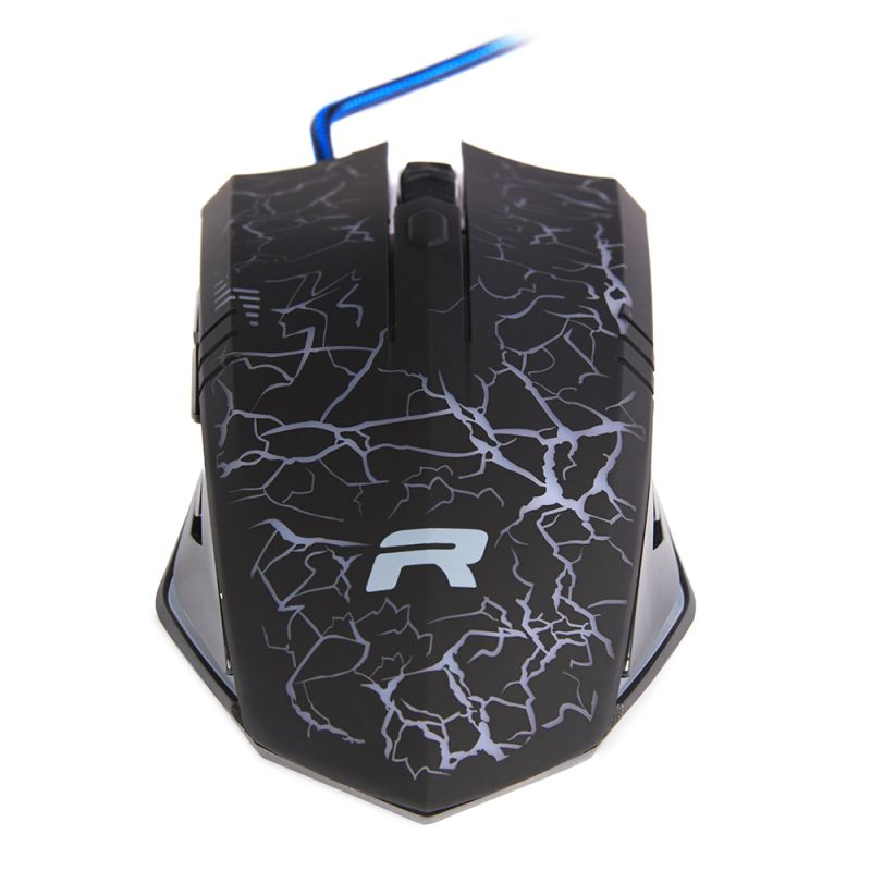 RIPPA Gaming Mouse – with high definition optical sensor – Blue/Black - 1562048019