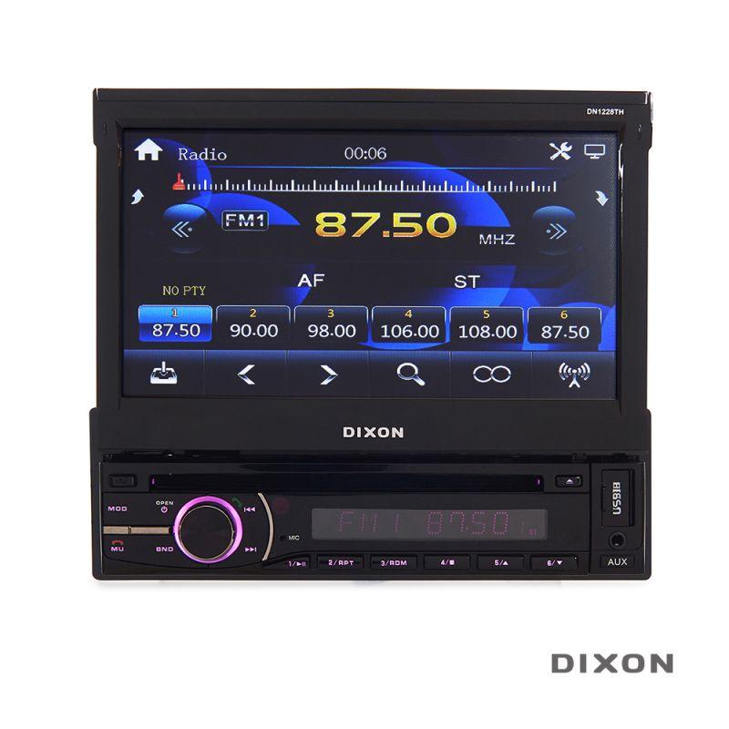 "DIXON 7"" In-Dash DVD Receiver – Touchscreen - 1565847111"