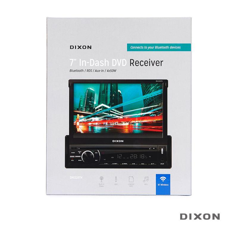 "DIXON 7"" In-Dash DVD Receiver – Touchscreen - 1565847112"