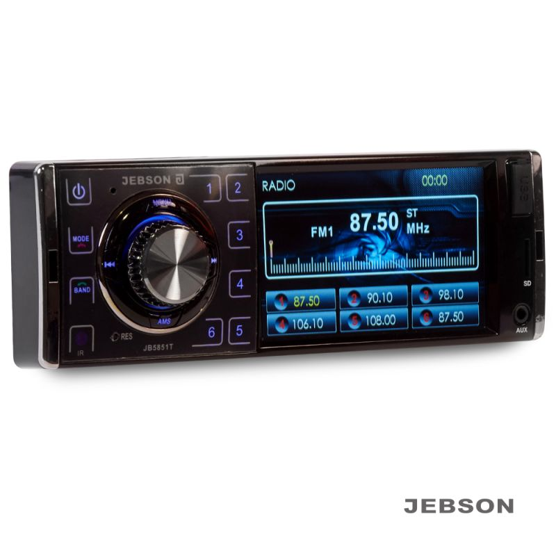 "JEBSON 4"" Car Digital Media Player with USB/SD Slot - 1568641158"