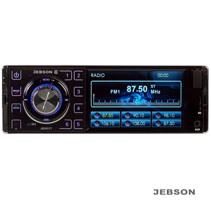 "JEBSON 4"" Car Digital Media Player with USB/SD Slot - 1568641160"