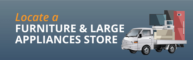 Large furniture and appliances store
