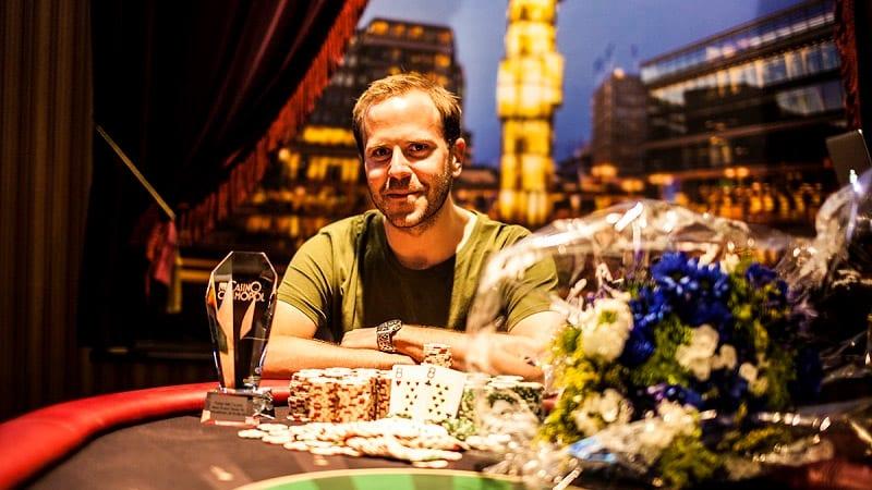 Michael Tureniec vinner Poker-SM 2016 på Casino Cosmopol.