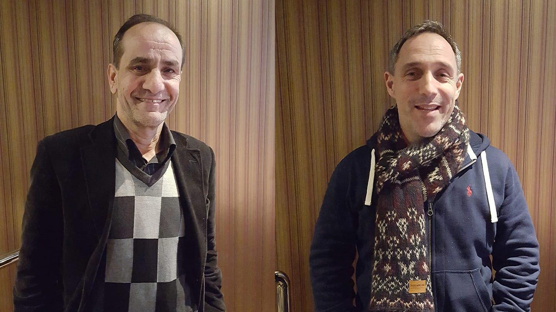 Sirwan Tishko och Morgan Wald
