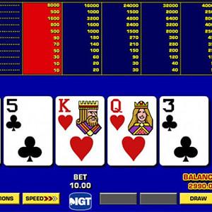 Bonus Poker - Game King