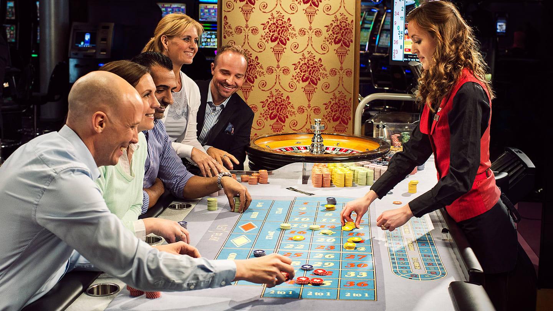 Trekamp, roulette, Casino Cosmopol