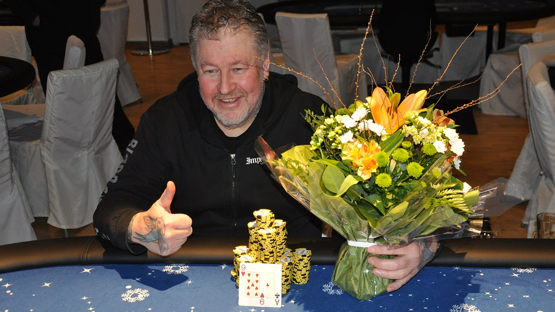 Lacke Jonsson vinnare av Poker Mania 2017