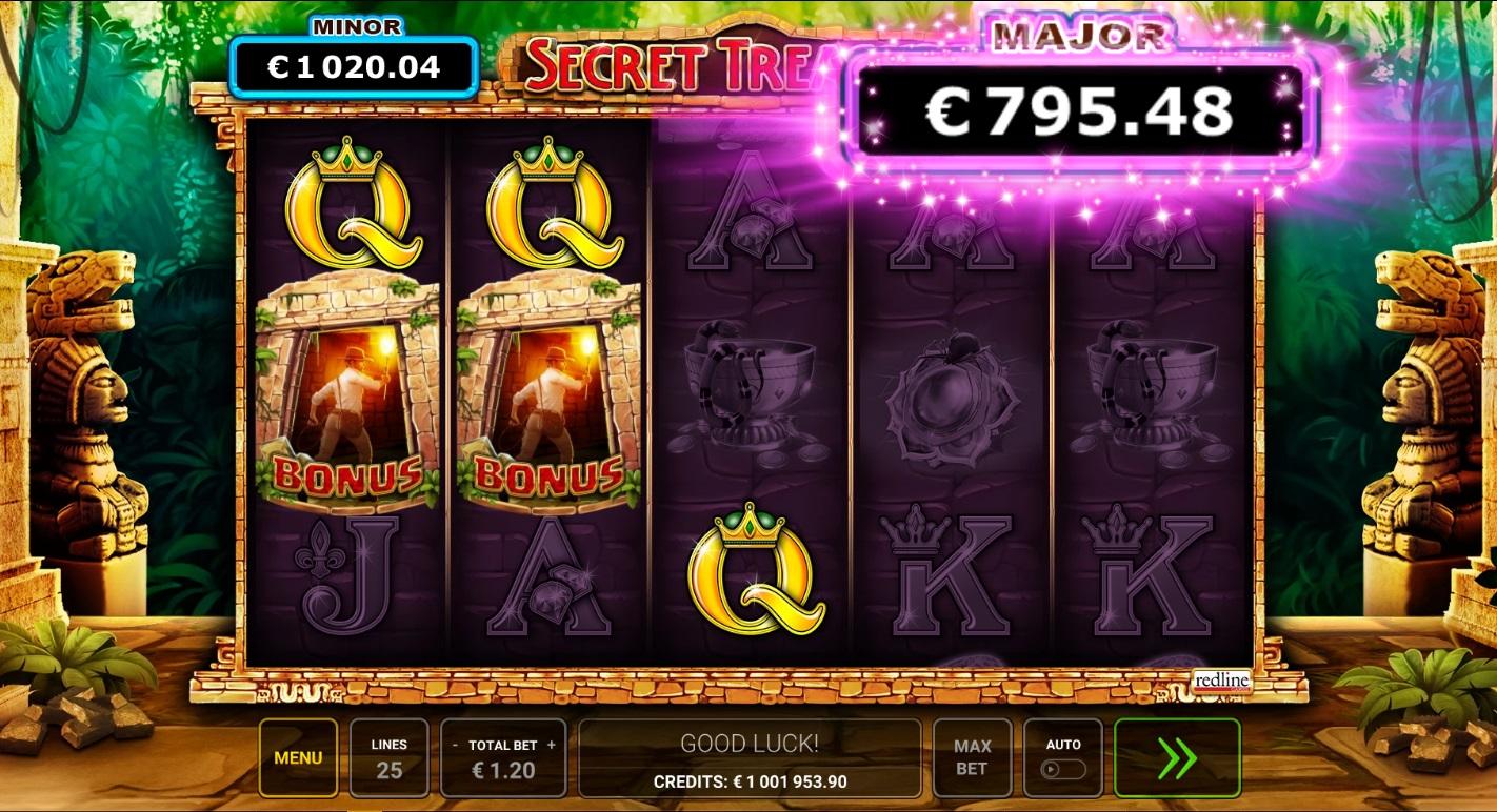 Secret Treasures Slot Jackpot