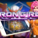 Iron Girl Slot from Play'N Go Logo
