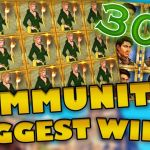 Community biggest slot wins Part 30 of 2018