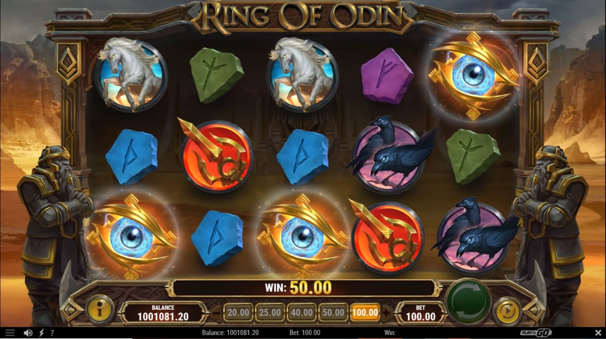 Ring of Odin Foresight Free Spins