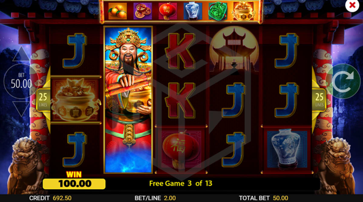 Gong-Hei Gong-Hei Free Spins Expanding Symbol