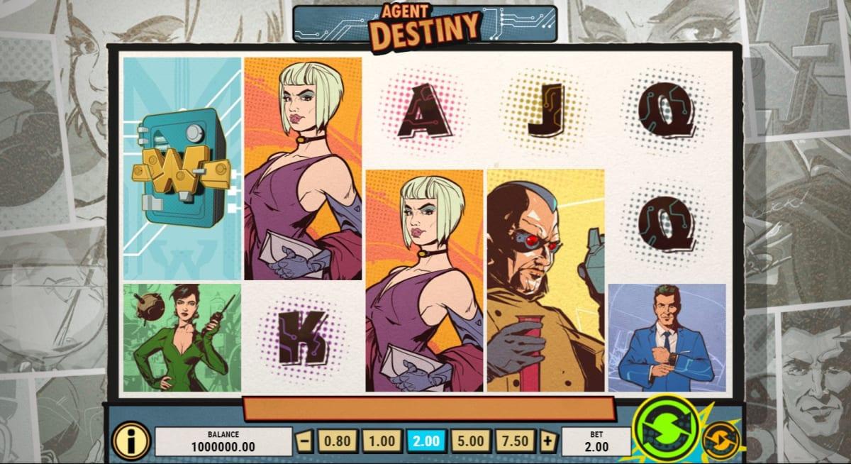 Agent Destiny Design and Symbols