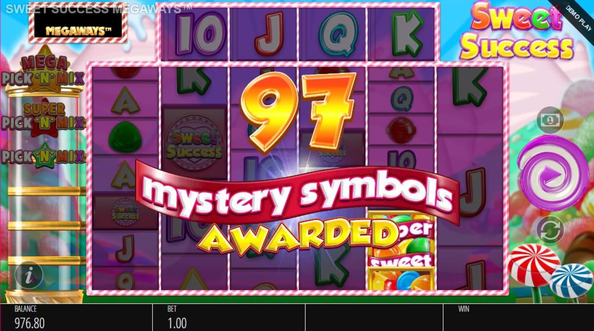 Sweet Success Megaways Mystery Symbol