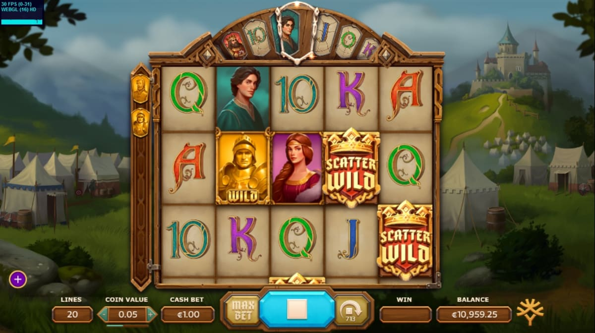 Arthur's Gold feature in Arthur's Fortune Slot