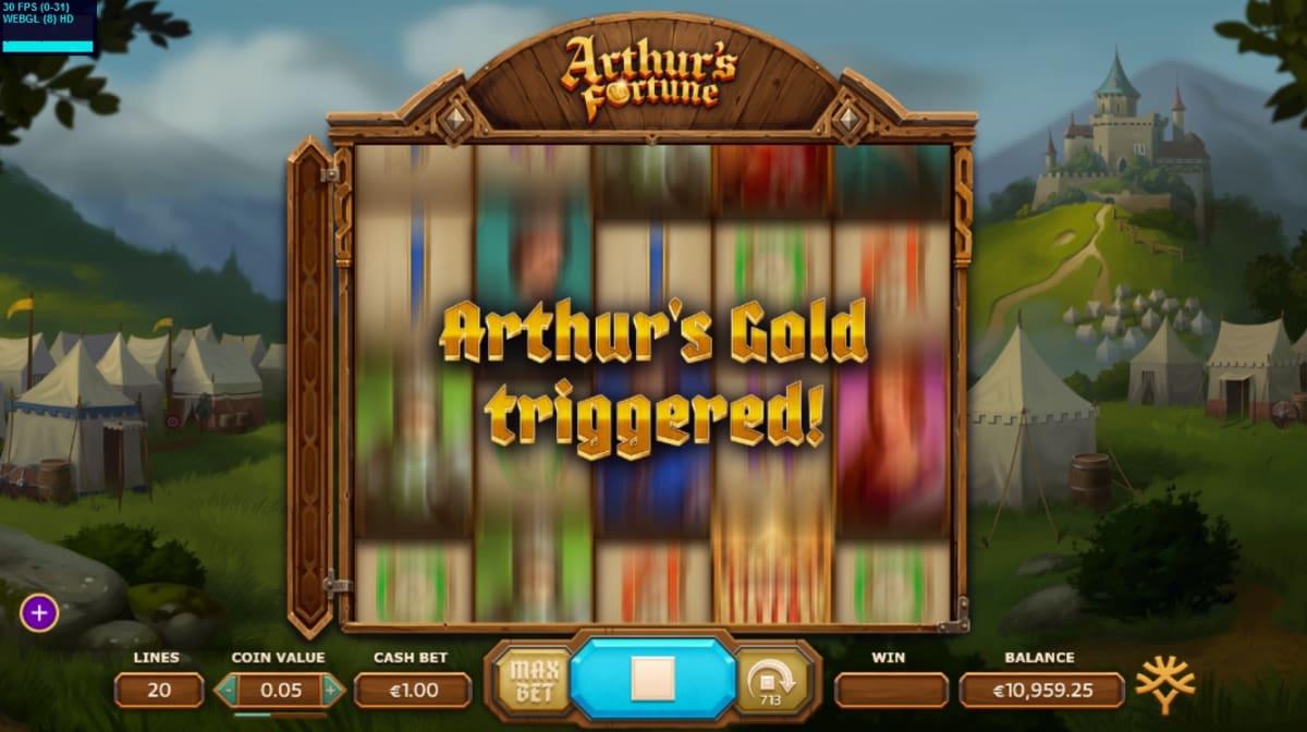Arthurs_Fortune_Merlins_Trigger_Free_Spins