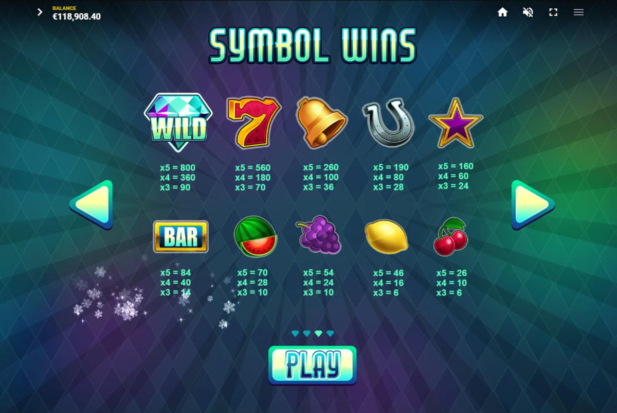 Diamond Blitz Symbols