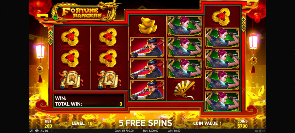Fortune Rangers Free Spins