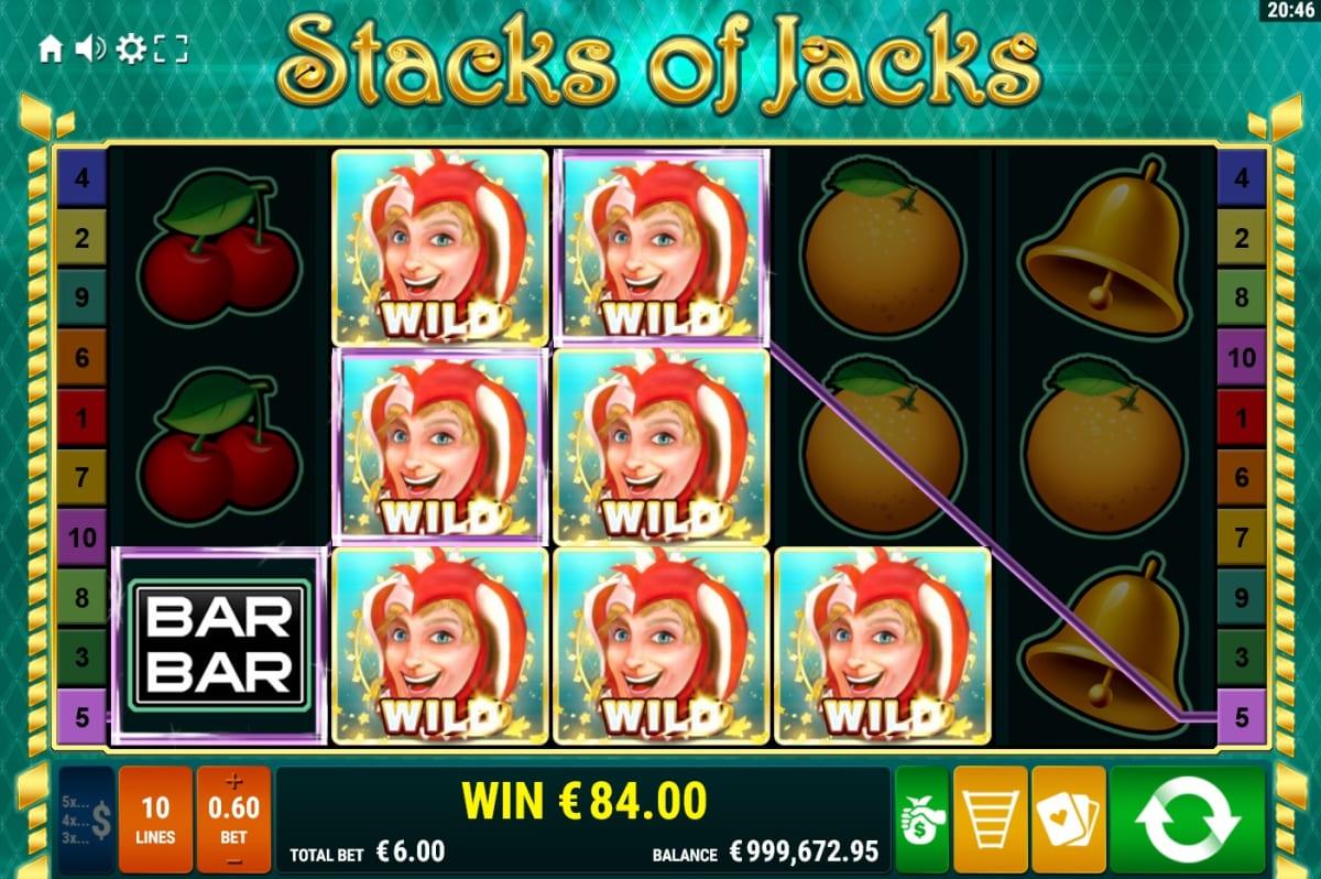 Stacks of Jacks Wilds