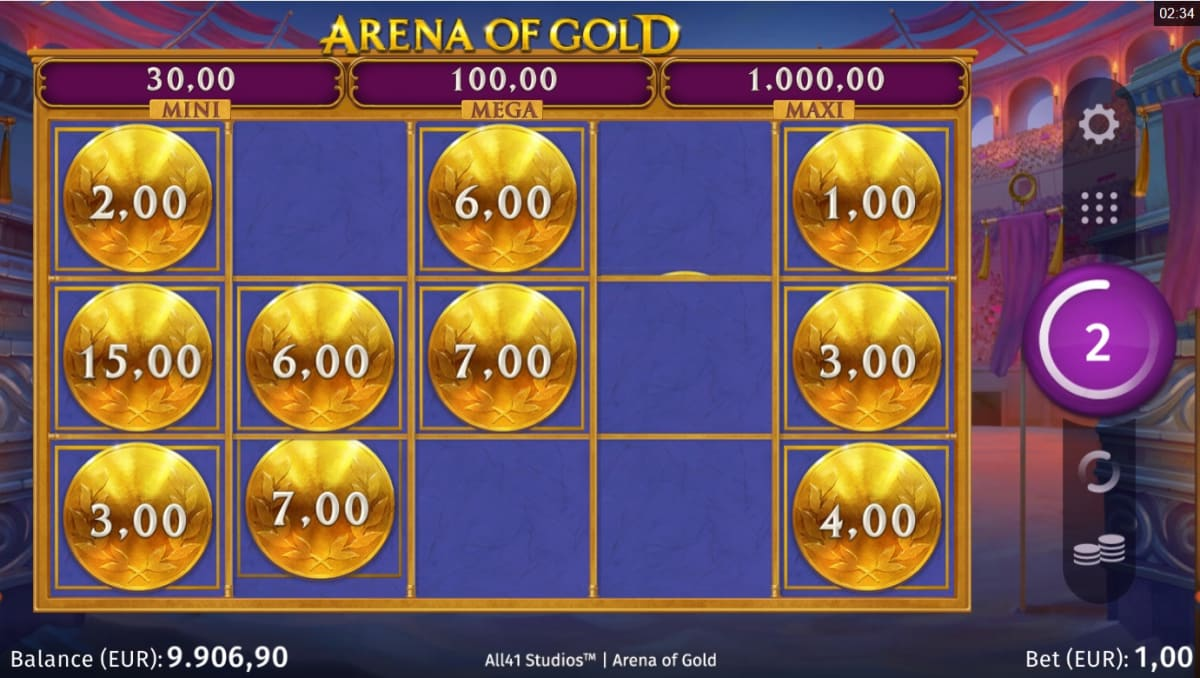 Arena of Gold Respins
