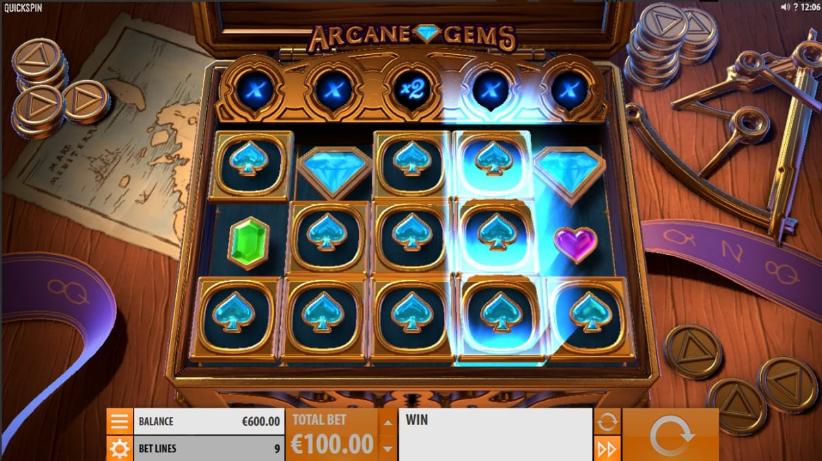 Arcane Gems feature