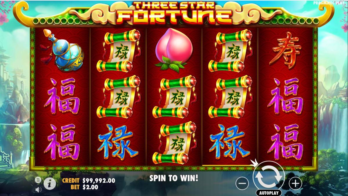 Three star fortune main