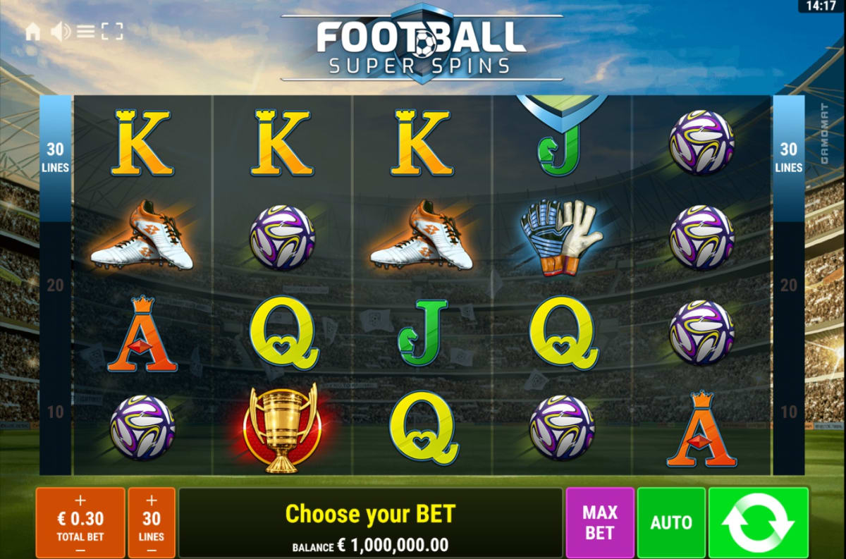 Football Super Spins Main