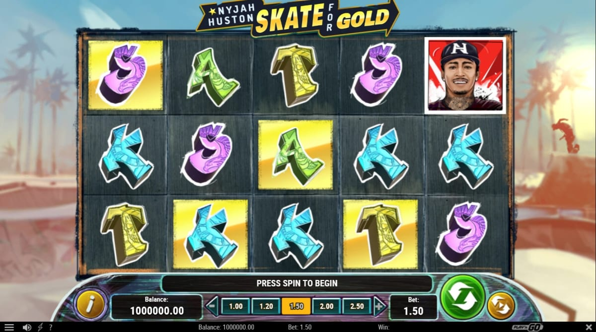 Skate for Gold main